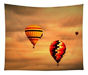 Balloons In The Morning Tapestry