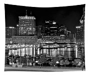 Baltimore Lights Up Brightly Tapestry