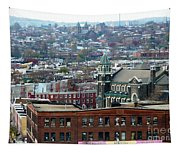 Baltimore Rooftops Tapestry