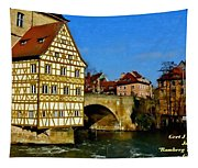 Bamberg Townhall - Germany H A Tapestry