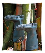 Bamboo Boots Tapestry