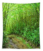 Bamboo Forest Trail Tapestry