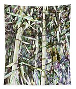 Bamboo Sprouts Forest Tapestry