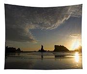 Bandon Sunset 4 Tapestry