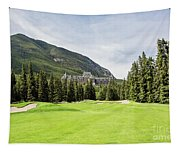 Banff Springs Golf And The Castle Tapestry