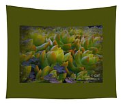 Bank Of Succulents Tapestry