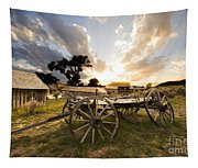 Bannack Montana Ghost Town Tapestry