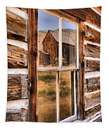 Bannack Reflection In The Past Tapestry