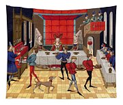 Banquet, 15th Century Tapestry