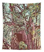 Baoba In Foliage Tapestry
