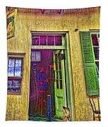 Bar Scene French Quarter New Orleans Tapestry