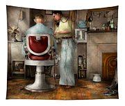 Barber - Our Family Barber 1935 Tapestry