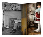 Barber - Our Family Barber 1935 - Side By Side Tapestry