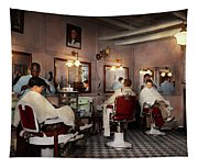 Barber - Senators-only Barbershop 1937 Tapestry