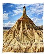 Bardenas Desert Last Man Standing Tapestry