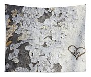 Bark With Heart Tapestry