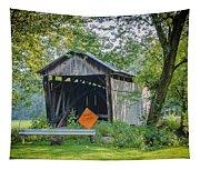 Barkhurst Covered Bridge  Tapestry