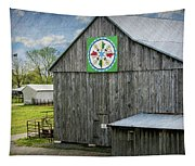 Barn Hex Sign Tapestry