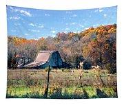 Barn In Liberty Mo Tapestry