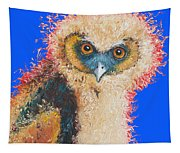 Barn Owl Painting Tapestry