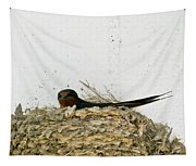 Barn Swallow Nesting Tapestry