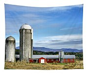 Barn With A View Tapestry