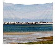 Barnstable Harbor Panorama Tapestry