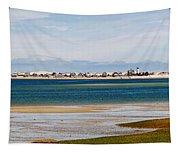 Barnstable Harbor Panorama Tapestry
