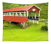 Barron's Covered Bridge Tapestry