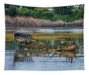 Barry Island Wrecks 2 Tapestry