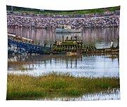 Barry Island Wrecks 3 Tapestry