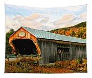 Bartonsville Covered Bridge Tapestry