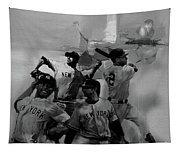 Base Ball Players Tapestry