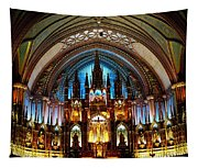 Notre - Dame Basilica - Montreal Tapestry