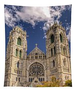 Basilica Of The Sacred Heart Newark New Jersey Tapestry
