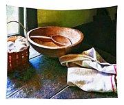 Basket Of Eggs Tapestry
