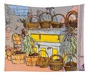 Baskets Tapestry