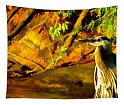 Basking Sunset Tapestry