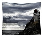 Bass Harbor Lighthouse In Acadia Np Tapestry