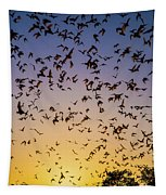Bats At Bracken Cave Tapestry