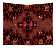 Bats In The Dark Tapestry
