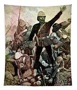 Battle Of Majuba Mountain  Tapestry