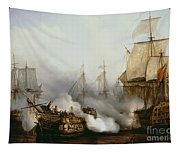 Battle Of Trafalgar Tapestry