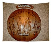 Bavarian Inn Willkommen Tapestry