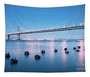 Bay Bridge Blues, San Francisco Tapestry