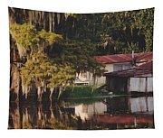 Bayou Shack Tapestry