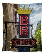 Bb King's Blues Club - Honky Tonk Row Tapestry