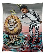 Be Courageous My Son Tapestry