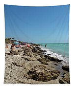 Beach And Rocks Tapestry