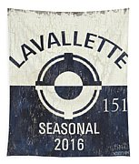 Beach Badge Lavalette Tapestry